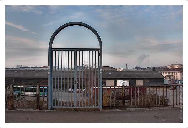 Porte sur vide