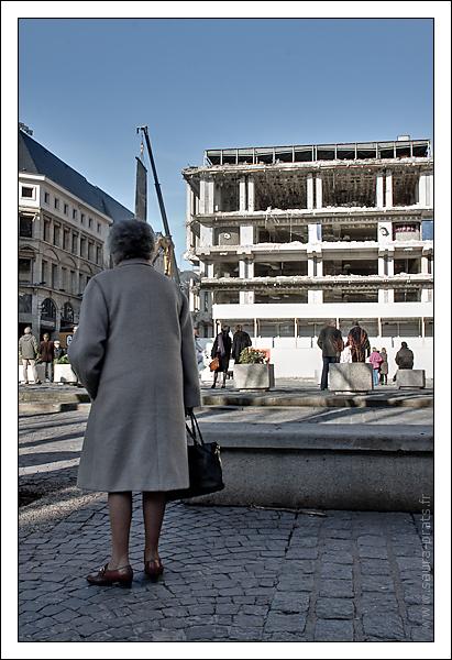 Rouen - démolition palais des congres