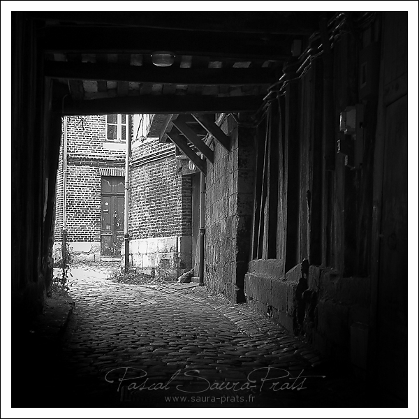 Rues de Rouen, passage rue malpalu