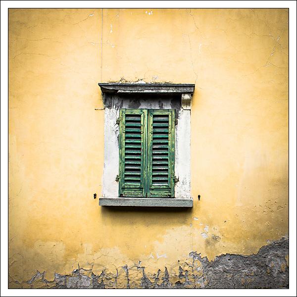 Fenêtre à Fiesole, Italie