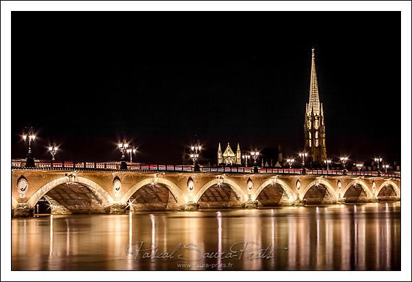 Bordeaux, le pont de pierre