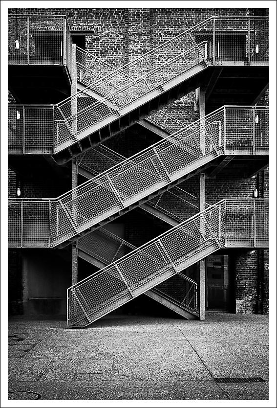 Escalier des docks vauban, Le Havre.