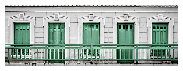 Balcon à Mers-les-Bains