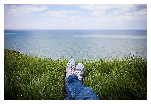 Mers-les-Bains, tranquille la vie