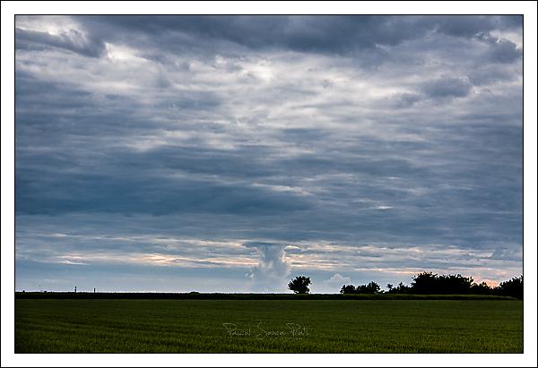 Campagne et nuage