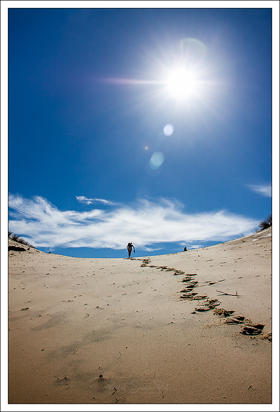 La traversée du désert, dune du pilat.
