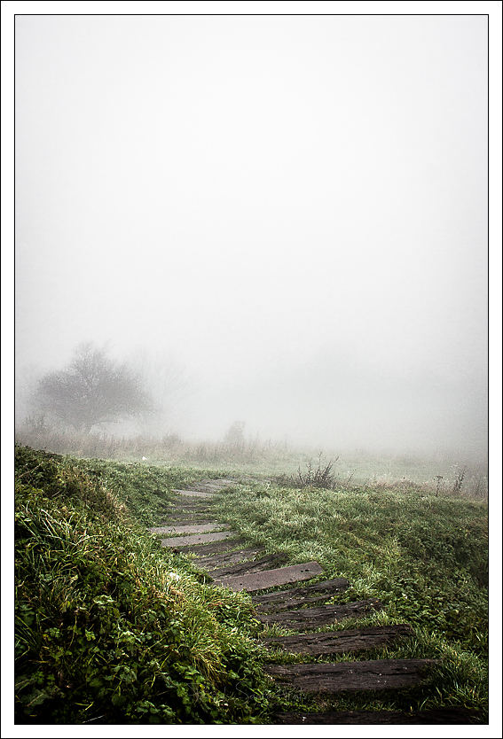 Rouen brouillard